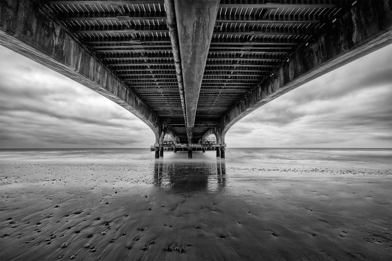 Underneath Bournemouth Pier