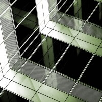 Office Windows Abstract