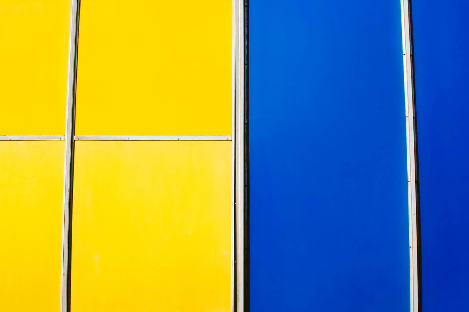 Blue And Yellow III