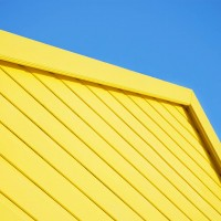 Yellow Beach Hut #1