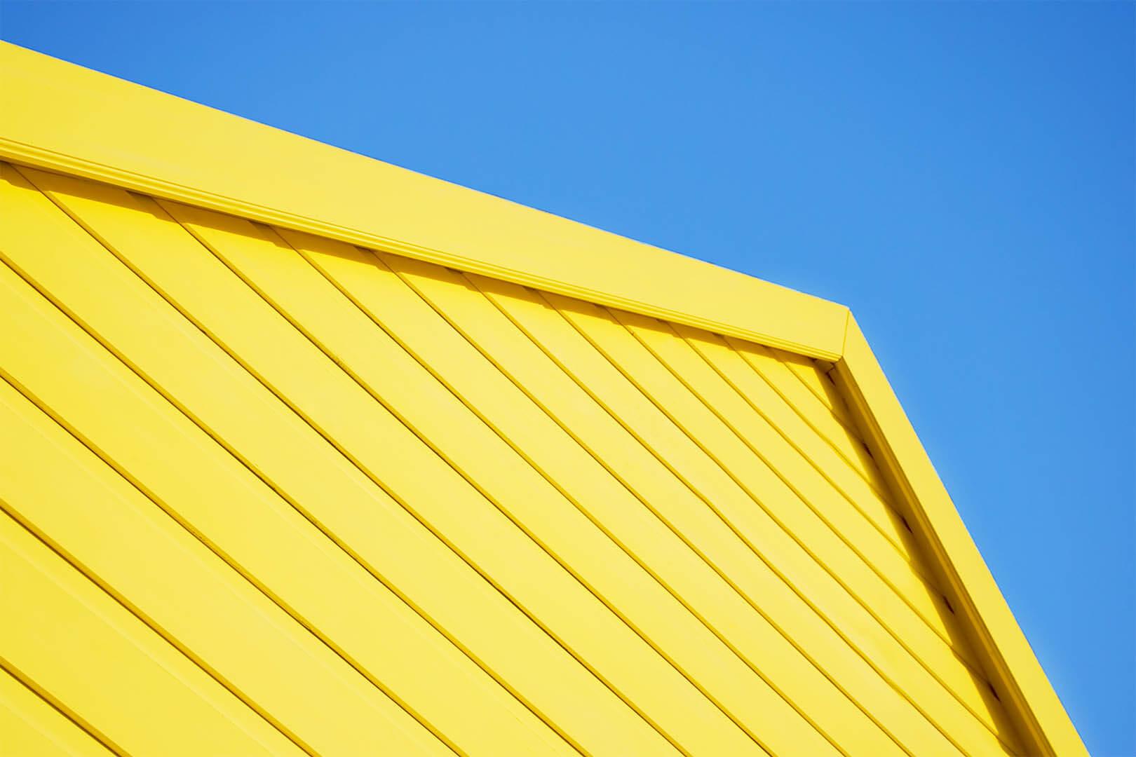 Yellow Beach Hut #1