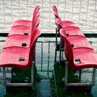Red Wet Seats