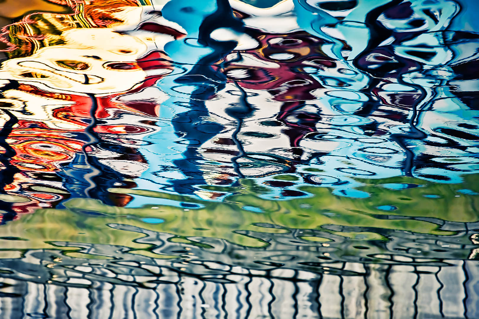Gunwharf Quays Reflections III