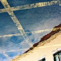 Car Park Reflection