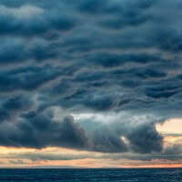 Storm Clouds at Keyhaven