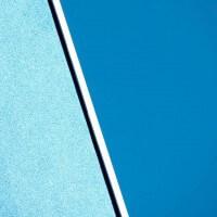 Blue Wall and Blue Sky