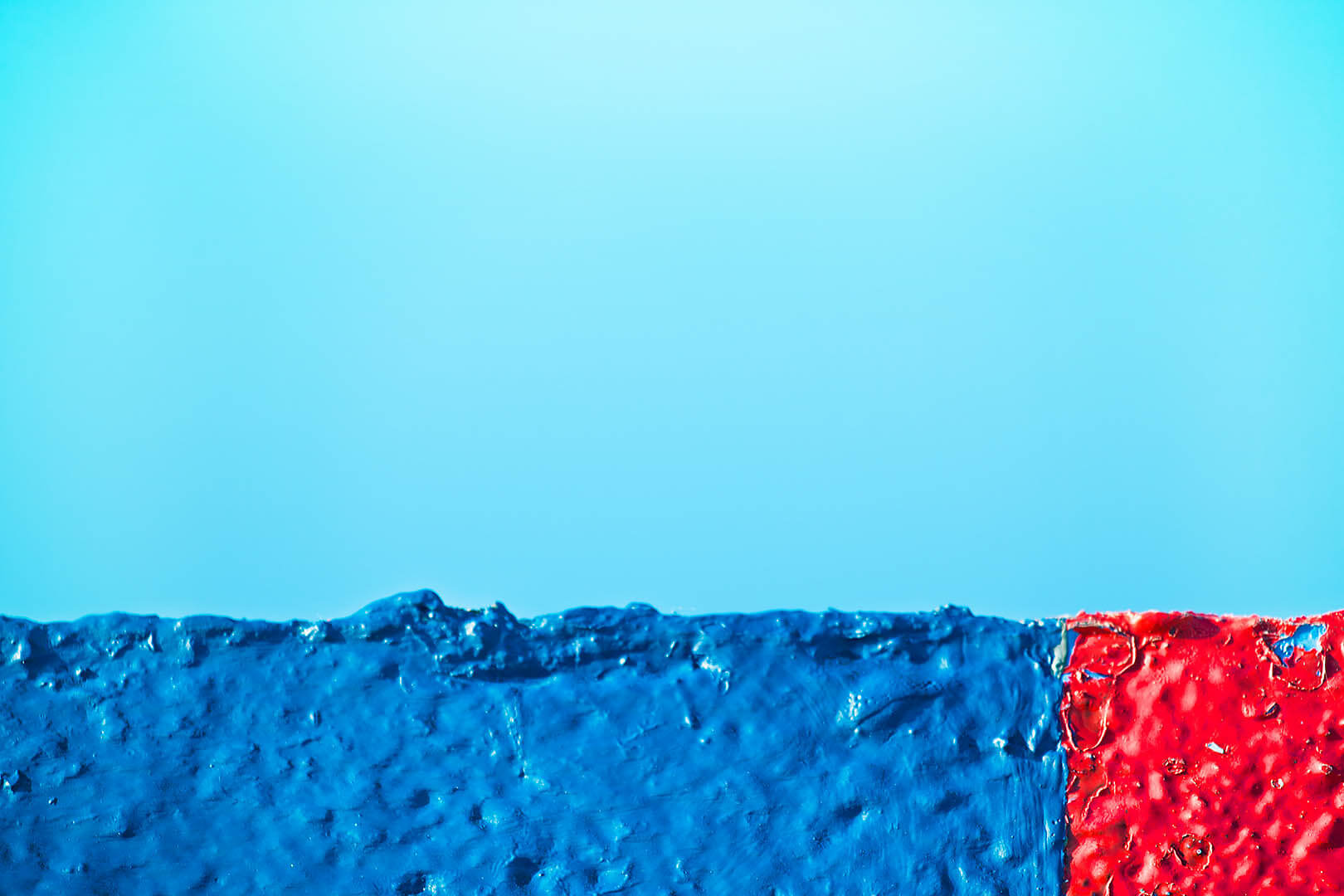 Red and Blue Roof