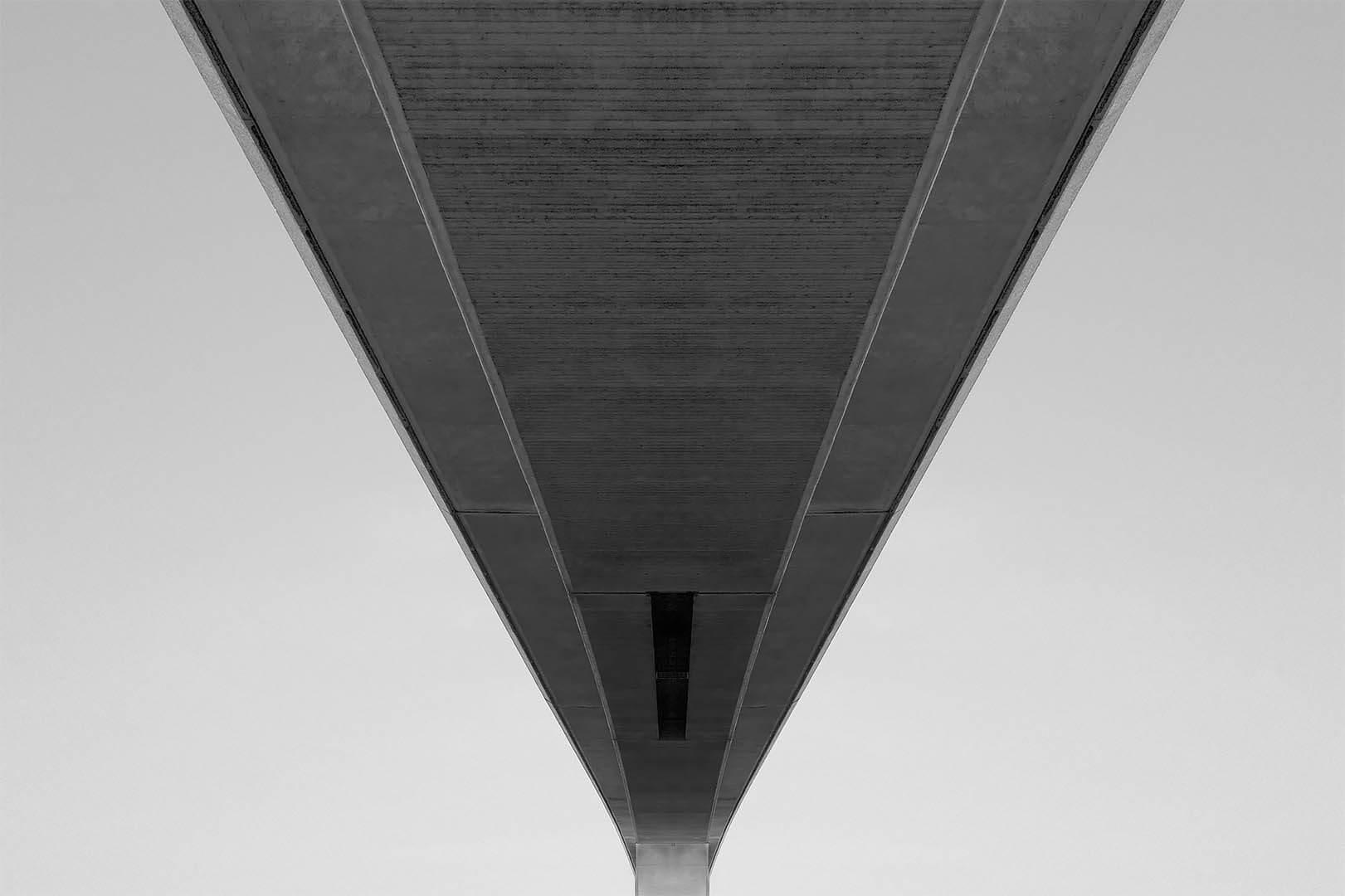 Underneath Itchen bridge