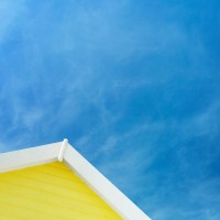 Yellow Beach Hut #3