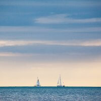 Two Sailing Boats